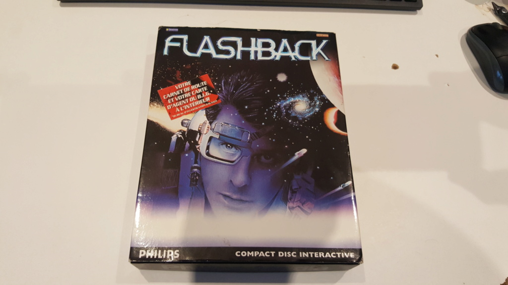 le jeu  FLASHBACK   (cdi,md ,3do,sega cd ,jaguar ,next gen ) 20201168