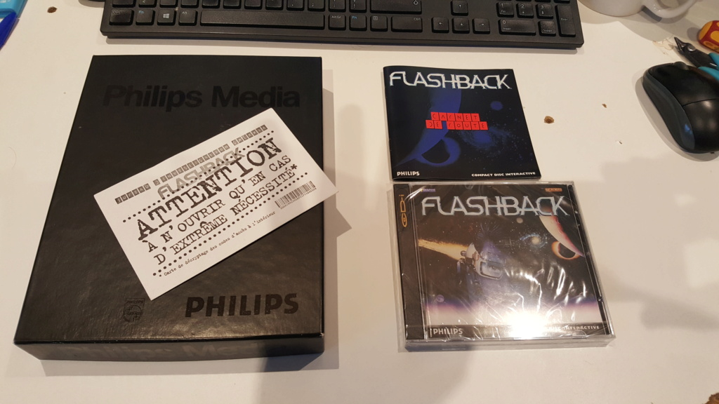 le jeu  FLASHBACK   (cdi,md ,3do,sega cd ,jaguar ,next gen ) 20201169