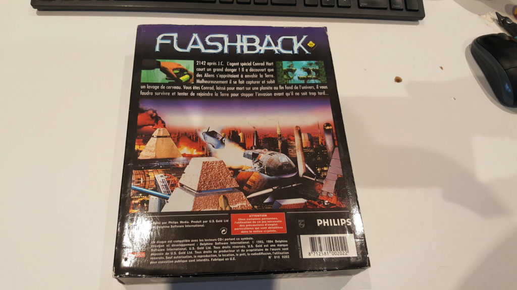 le jeu  FLASHBACK   (cdi,md ,3do,sega cd ,jaguar ,next gen ) 20201170