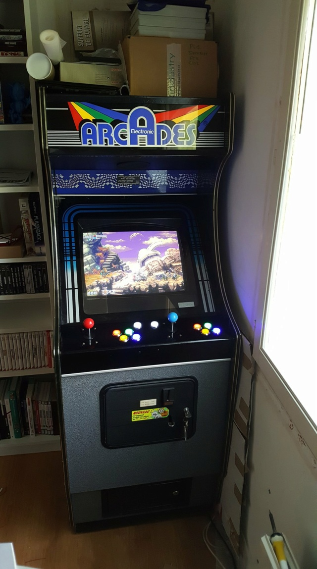 [WIP] Restauration borne Arcade Electronics 71090410