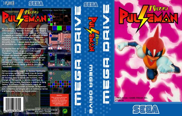 Septembre c'est le mois de la repro MD --- Pulseman PAL Pulsem16
