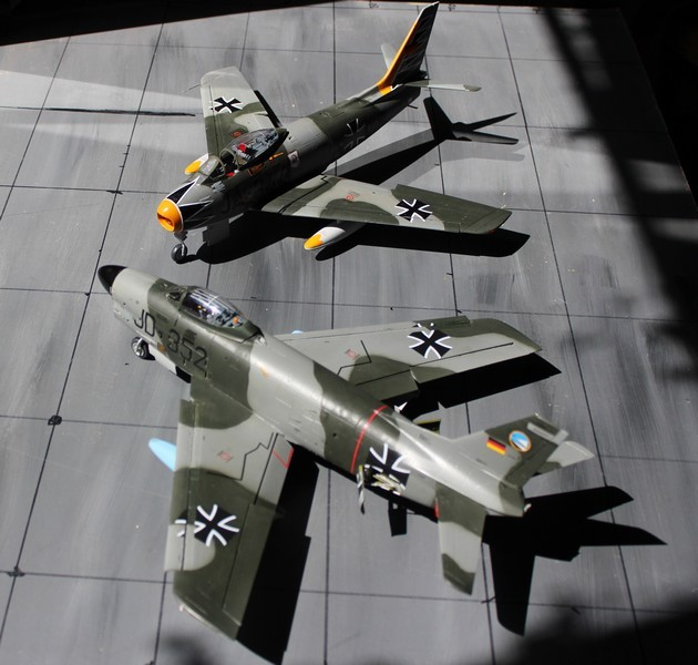 NORTH AMERICAN F-*86K Luftwaffe North_49
