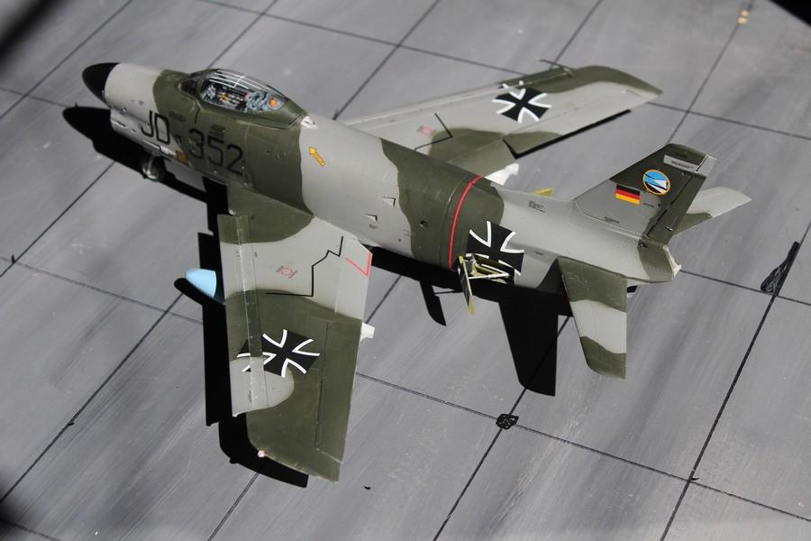 NORTH AMERICAN F-*86K Luftwaffe North_52