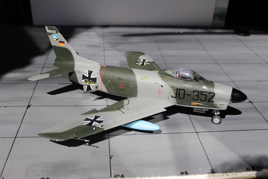 NORTH AMERICAN F-*86K Luftwaffe North_55
