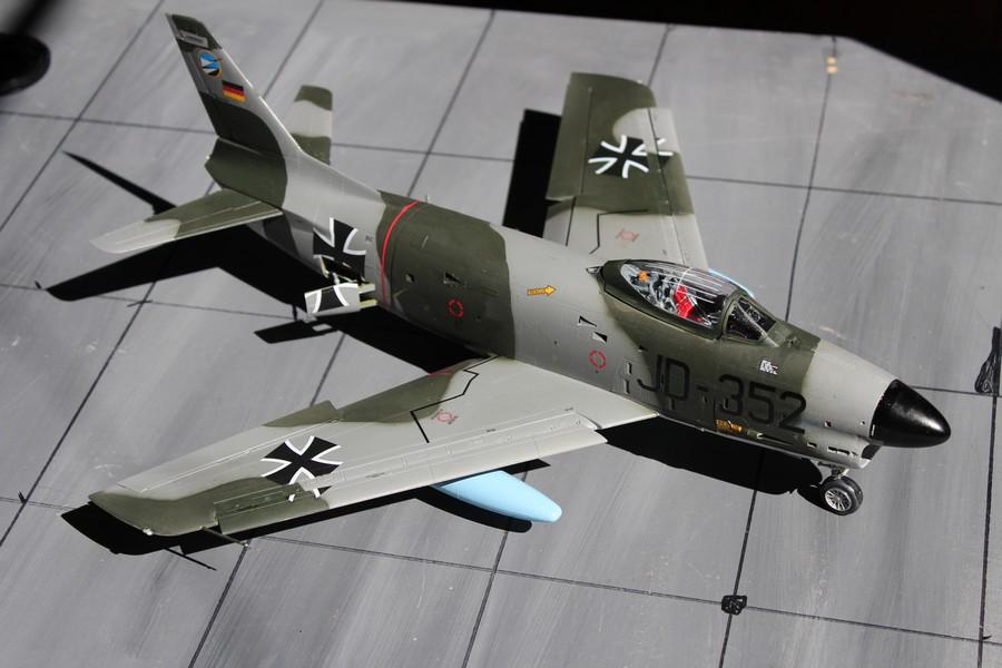 NORTH AMERICAN F-*86K Luftwaffe North_57