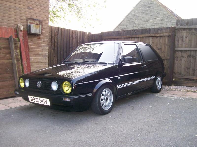 Golf Mk2 Van 'Krusty'  05510