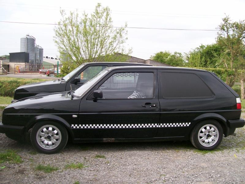 Golf Mk2 Van 'Krusty'  910