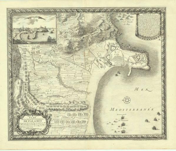 Dispositif français sur la cote du NE espagnole, 1808-1814 Palamo10