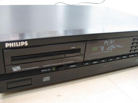 Philips CD634 Cd Player (Sold) Van-li10