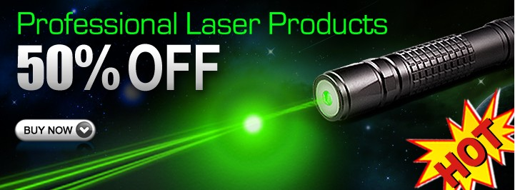 10.5% off for Laser Pointers As10
