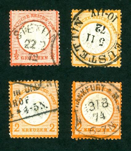 Deutsches Reich 1872 bis 1874 - Brustschildausgaben 12_gr_10