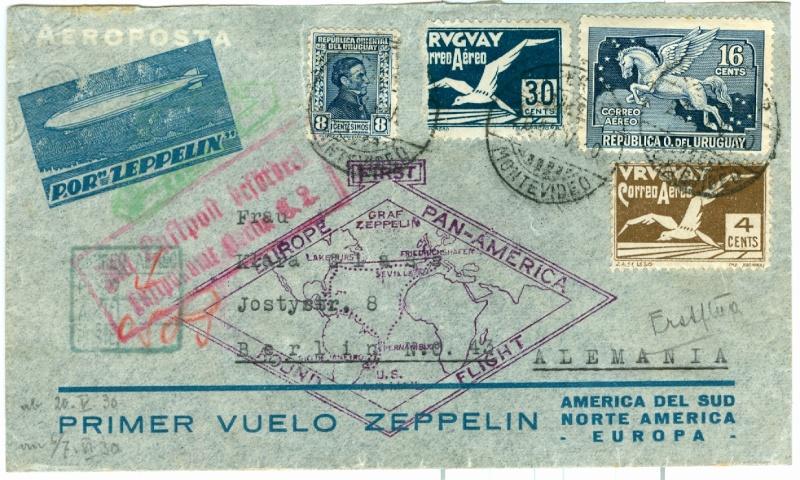"""Südamerikafahrt 1930 (Rundfahrt-) Post nach Friedrichshafen"""" - Seite 2 1_sam_10"""