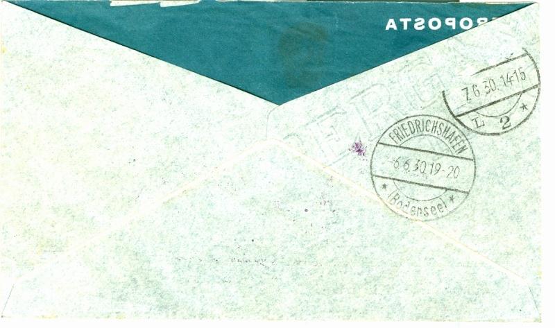"""Südamerikafahrt 1930 (Rundfahrt-) Post nach Friedrichshafen"""" - Seite 2 1_sam_11"""