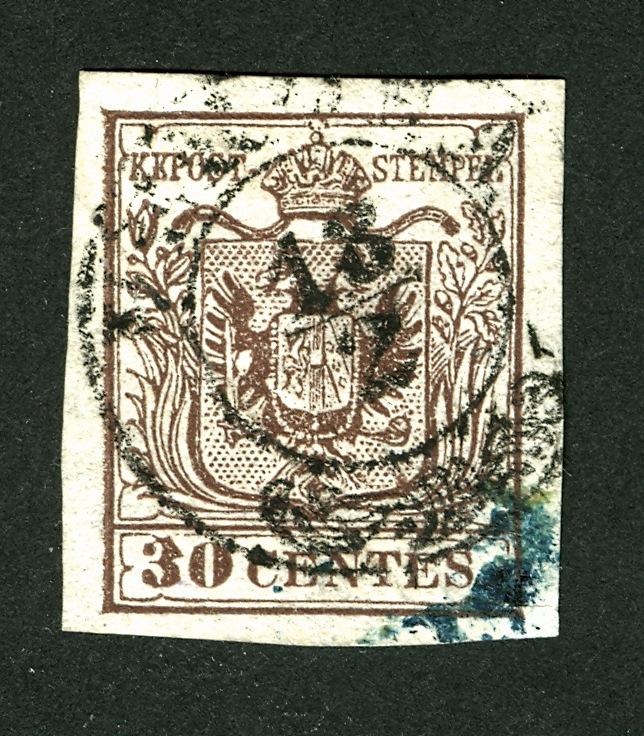 Hilfe gesucht : Lombardei und Venetien 1850 30 Centesimi 30_cen10
