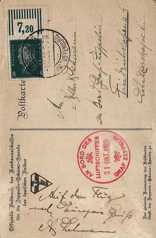 Zeppelinpost des LZ 127 - Seite 6 33310