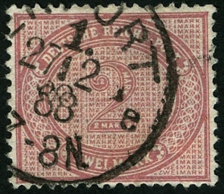 1875 bis 1899 -Pfennige/Pfennig/Krone und Adler 37_vi10
