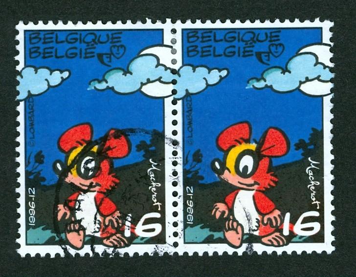 Briefmarken - Briefmarken mit durchlaufenden Markenbild Doorlo12