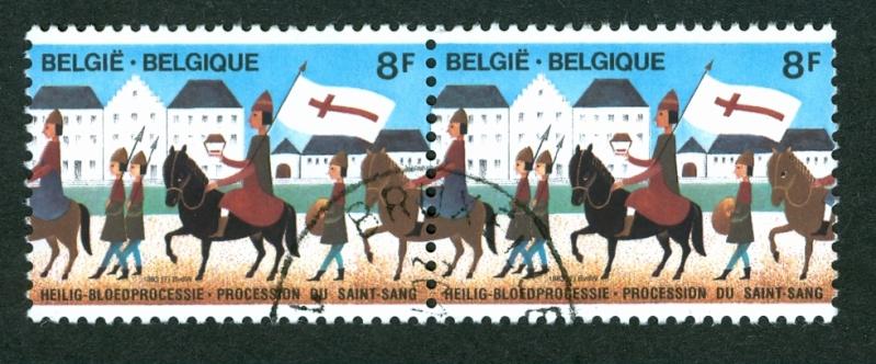 Briefmarken - Briefmarken mit durchlaufenden Markenbild Doorlo14
