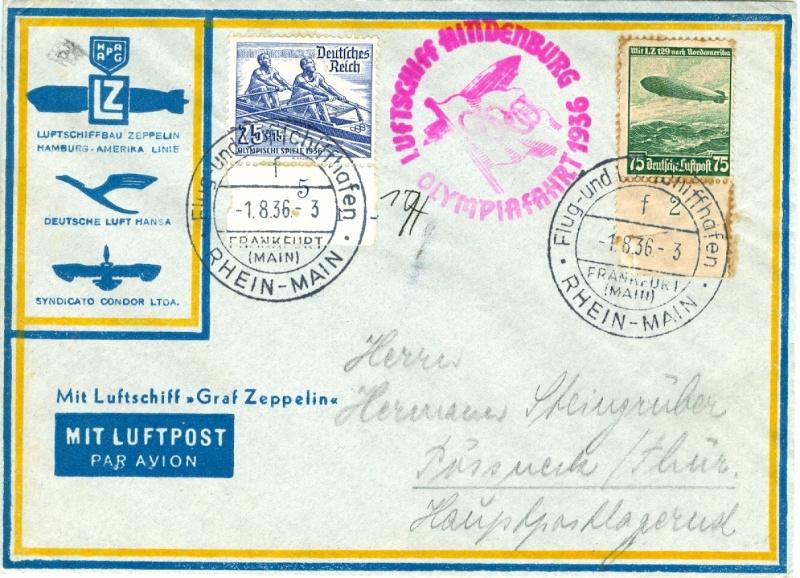 Zeppelinpost des LZ 129 - Seite 2 Olympi10