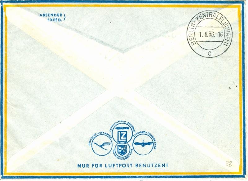 LZ 129 Hindenburg und Olympia 1936 Olympi14