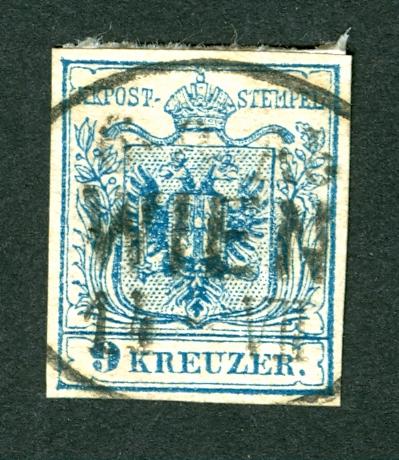 Wien-Stempel von 1850 bis 1858 Ovale_10