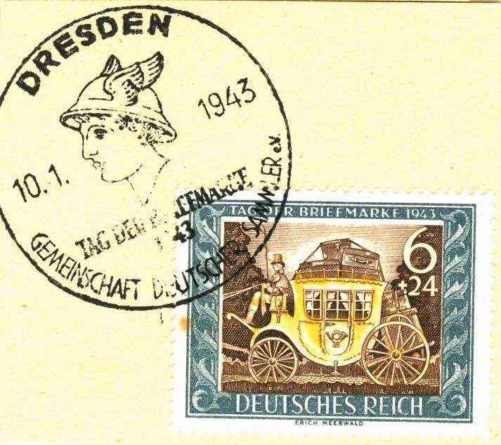 Belege / Sonderstempel Deutsches Reich 1943 Sonder11