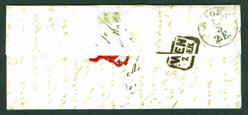 Brief von Venezia nach Baden (Wien) 1852 : Übersetzung gefragt Venezi11