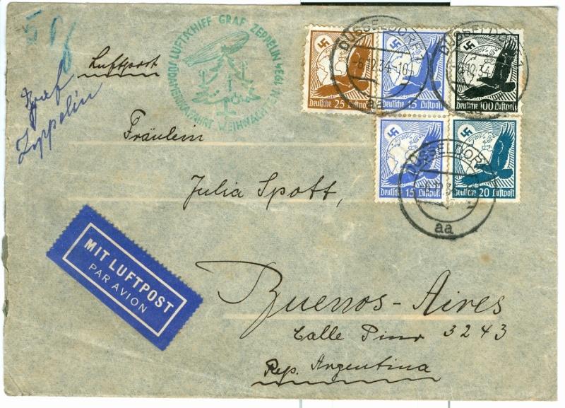 Zeppelinpost des LZ 127 - Seite 6 Weihna14
