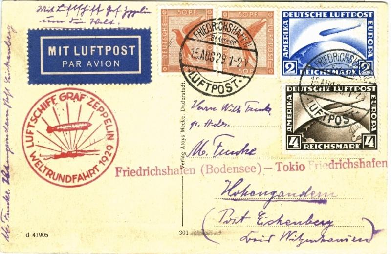 Zeppelinpost des LZ 127 - Seite 7 Weltru12