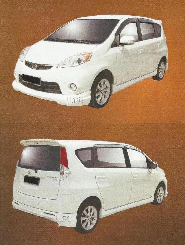 Perodua Alza Bodykits Kensty10