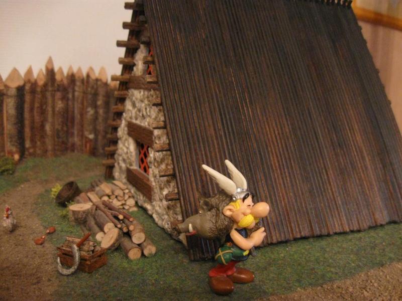 Le Village d'Astérix le Gaulois en maquette au 1/40 Asteri11
