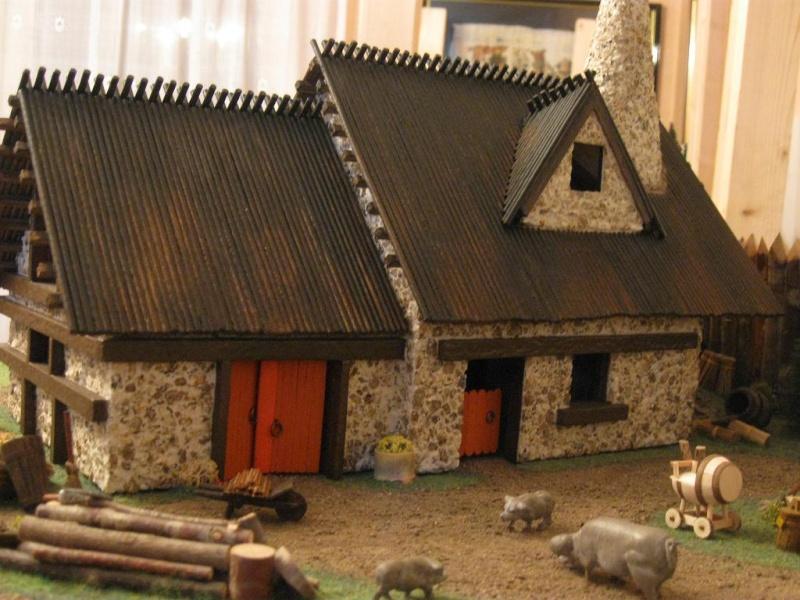 Le Village d'Astérix le Gaulois en maquette au 1/40 - Page 4 Deboit10