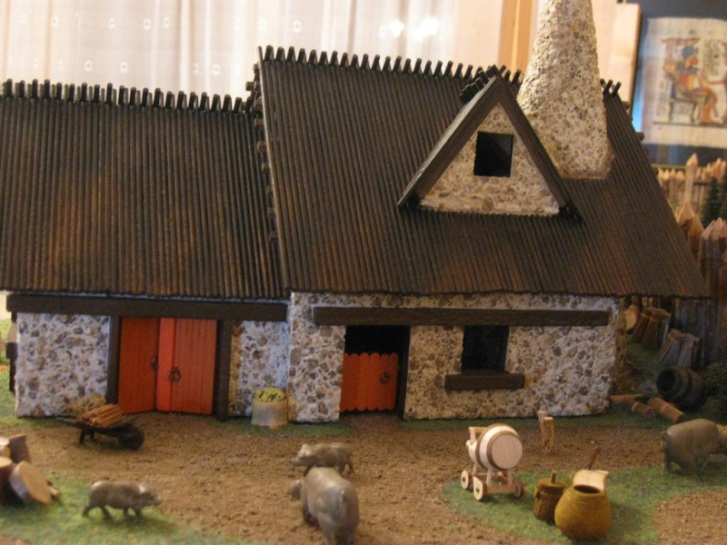 Le Village d'Astérix le Gaulois en maquette au 1/40 - Page 4 Deboit13
