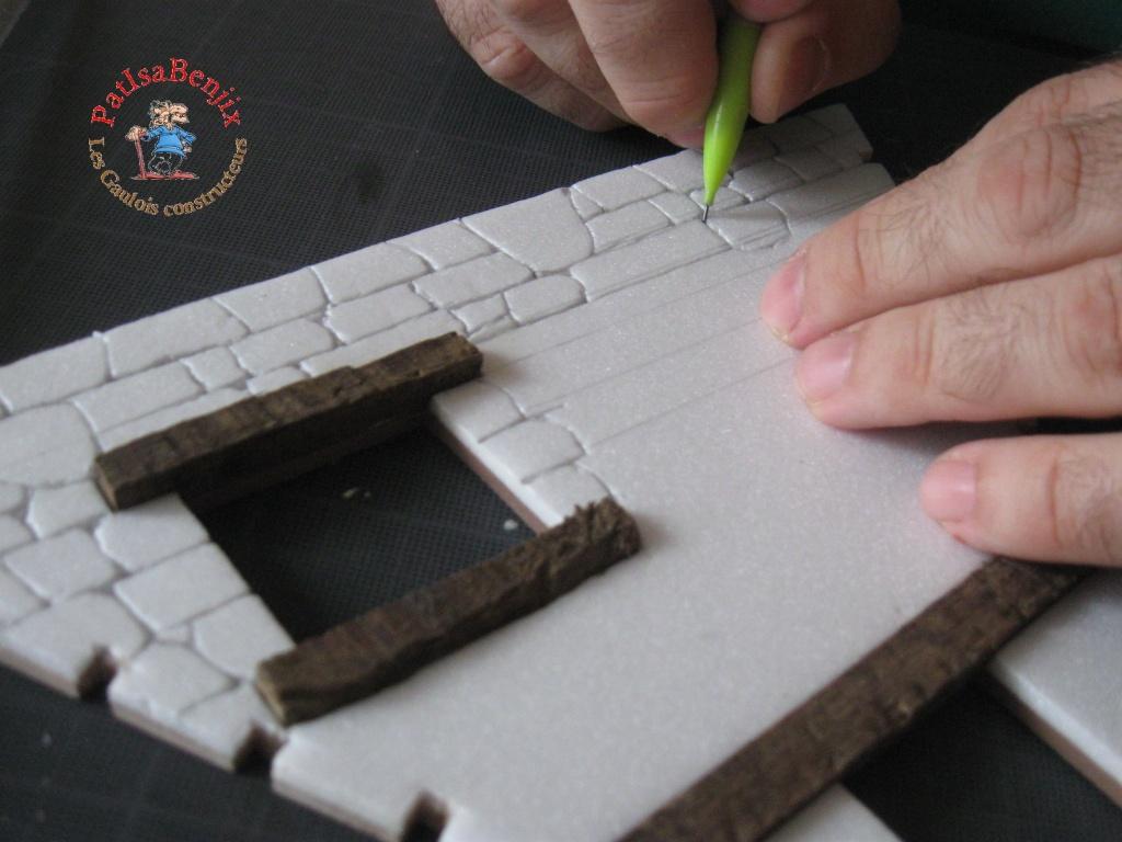 Création de maison Gauloise par les Gaulois constructeurs Img_5010