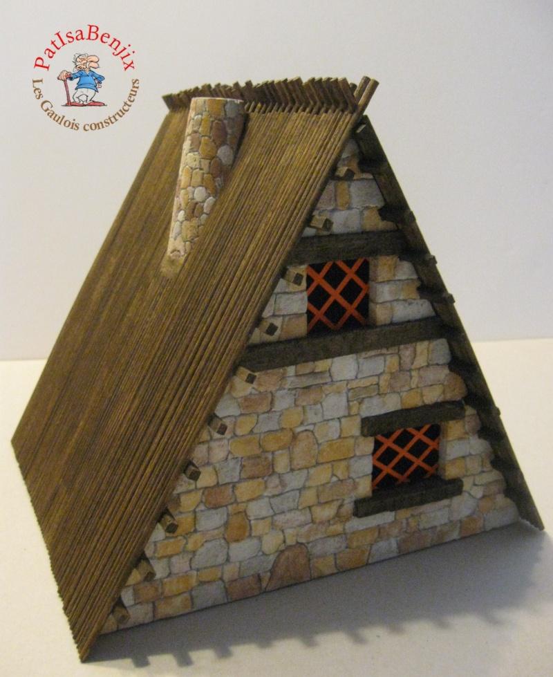 Création de maison Gauloise par les Gaulois constructeurs Img_5314