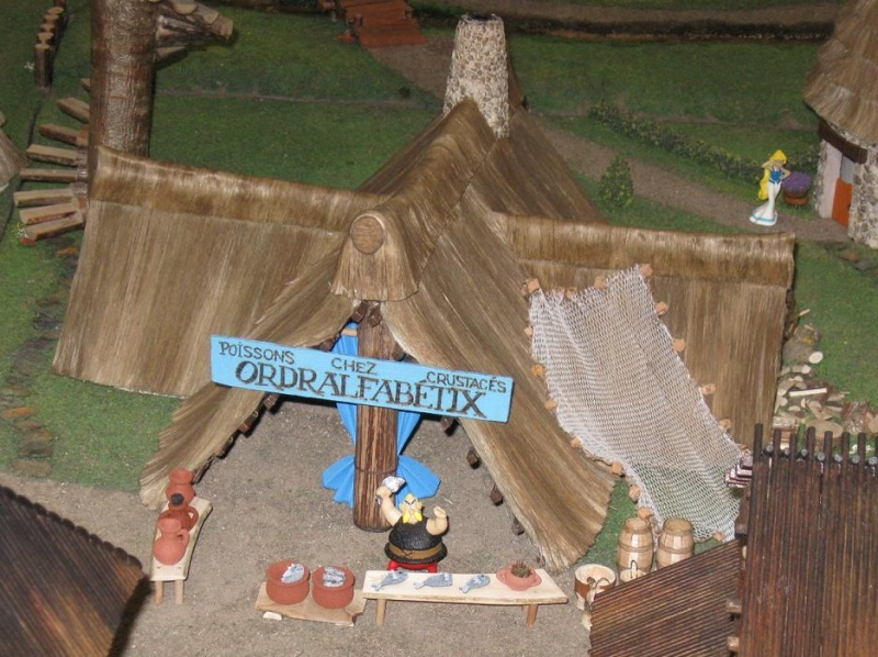 Le Village d'Astérix le Gaulois en maquette au 1/40 - Page 2 Ordral11