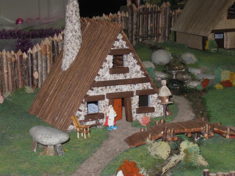 Le Village d'Astérix le Gaulois en maquette au 1/40 Panora11