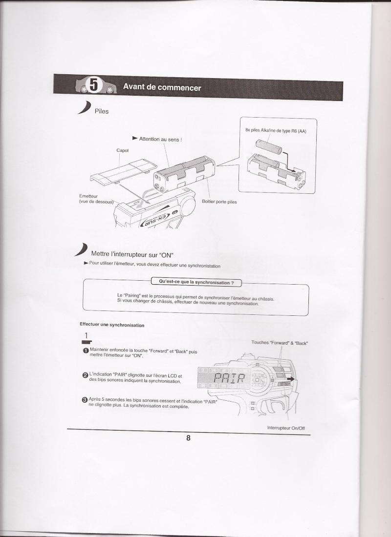 Notice de la EX-5UR ASF 2.4 Ghz Scan0017
