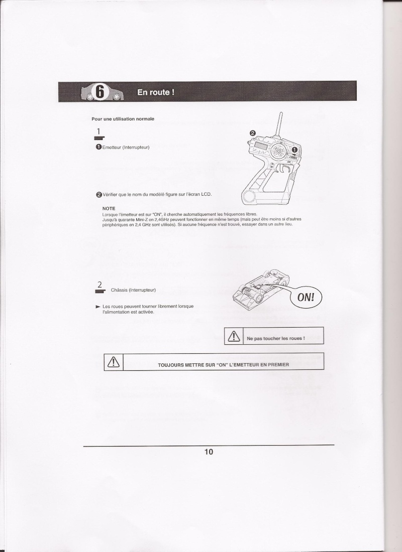 Notice de la EX-5UR ASF 2.4 Ghz Scan0019