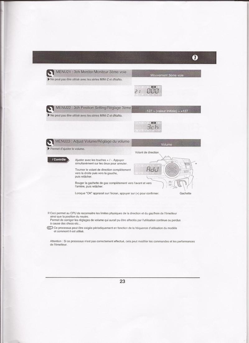 Notice de la EX-5UR ASF 2.4 Ghz Scan0032