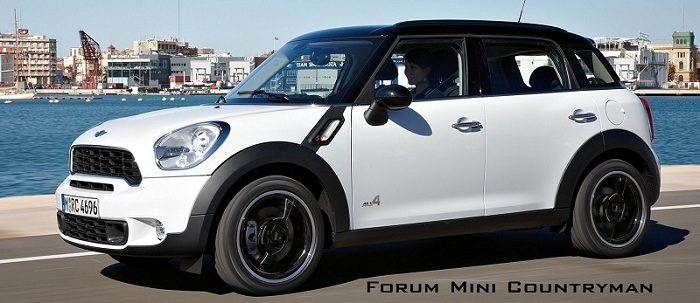 Forum Mini Countryman et Paceman