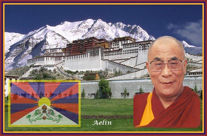 Le Dalaï-Lama au Royaume-Uni Bannie10