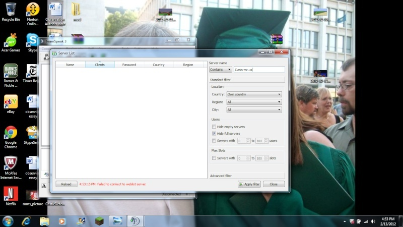 Teamspeak3 Setup/ How to join our server and what not. Untitl10