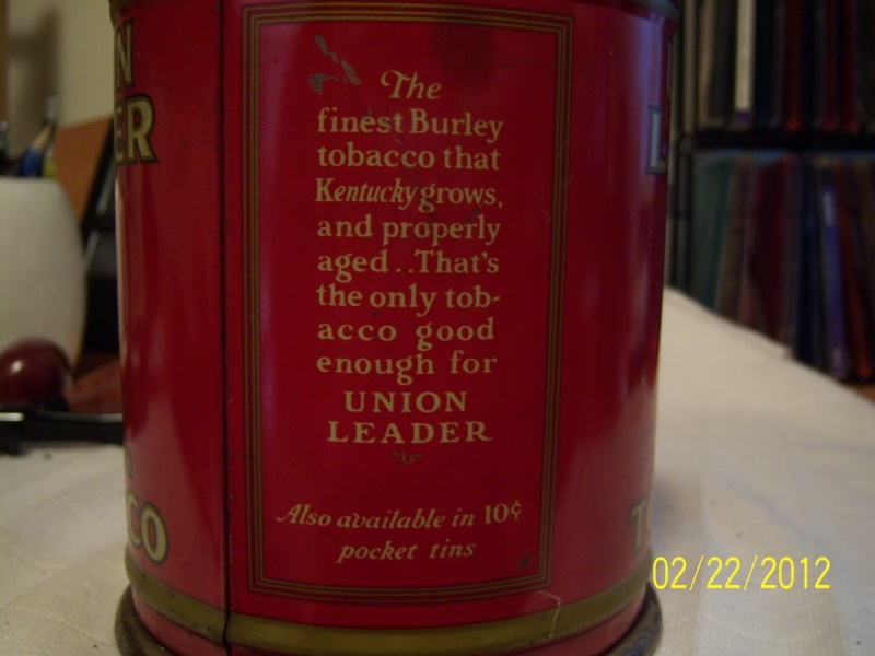 WANTED Pics of your old tobacco tins Union_12