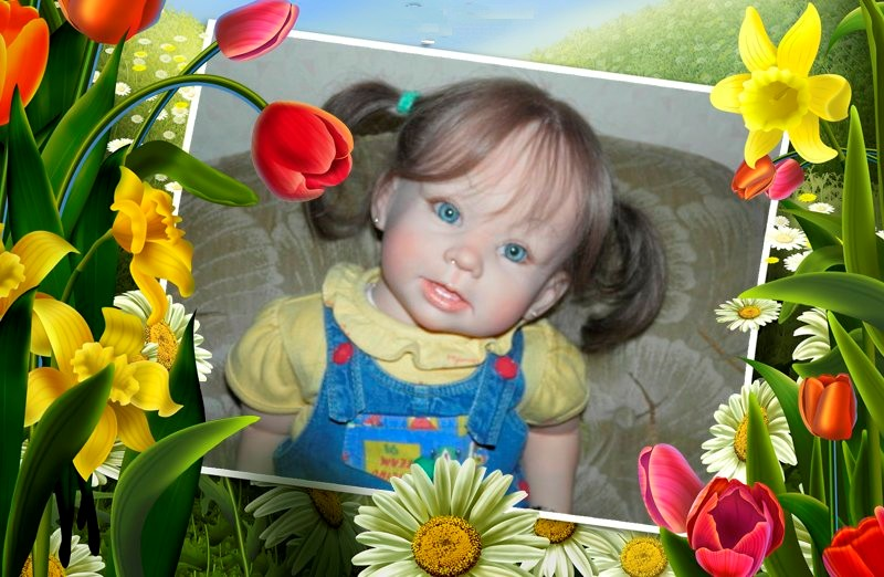 "la nurserie ""BABYMARIPOSA""   :   nurserie d 'EMYLOU - Page 2 Fleurs10"