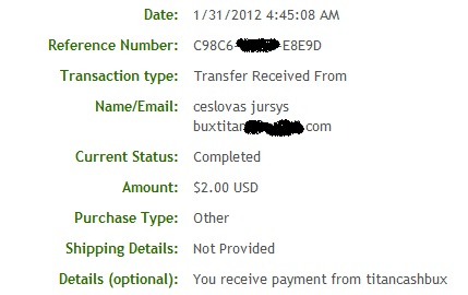 My payment 2667 Ptb210