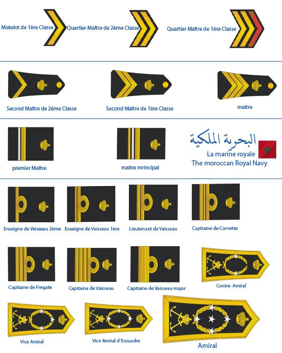 grades et insigne de la marine royale Royal_11