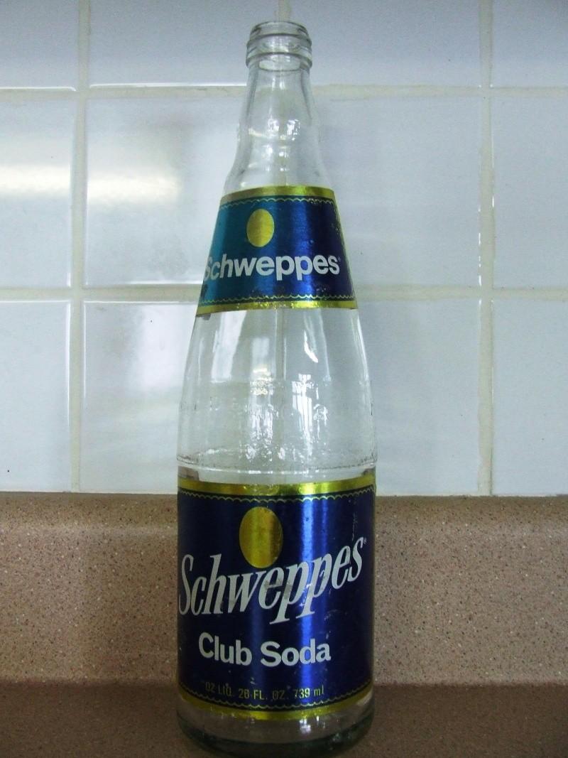 Pure Spring Beverages circa 1940 - 7oz - Embossée et verte! Dscf5538
