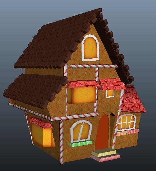 House Model WIP Houses10