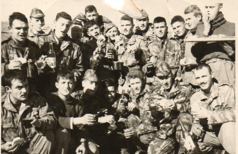"""GALLOU Chasseur Parachutiste 18e RCP Mort au """"Champ d'Honneur"""" le 20 avril 1961 9110"""